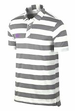 Nike Sport Stripe Golf Men's Vintage Polo Shirt 518070 Was $75 L