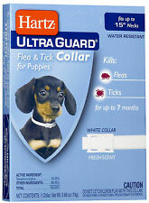 Hartz UltraGuard Flea & Tick Collar for Puppies, Water Resistant