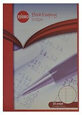 RHINO A4 Ledger Ruling Book-Keeping Book