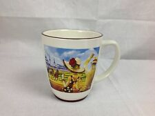 KENTUCKY DERBY COFFEE MUG The Official Art Churchill Downs Holds over 20 ounces