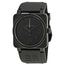 Bell and Ross Aviation Phantom All Black Dial Automatic 42MM Mens Watch