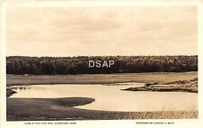 B68/ Georgetown Maine Me RPPC Real Photo Postcard Reid State Park c1950