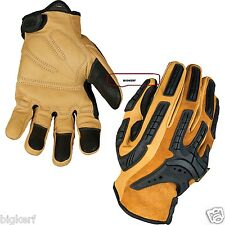 "MECHANIX LEATHER WEAR GLOVES   ""WORK - SPORT - RIDING""  {XX-LARGE}  CG50-75-012"