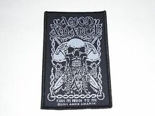 AMON AMARTH BEARDED SKULL WOVEN PATCH