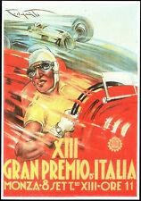 POSTCARD AUTODROMO DI MONZA - XIII GRAN PREMIO D'ITALIA - MONZA 8 SETTEMBRE 1935