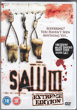 Saw 3 (DVD New, Sealed Horror) Tobin Bell  Donnie Wahlberg