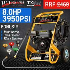 Petrol Pressure Washer - 8HP 3950psi AWESOME POWER TX625i WILKS USA