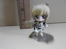 "#A97 Unknown Anime 2.5""in Tan Hair Figure with Cape"