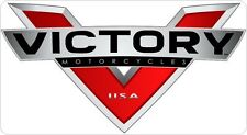 "Victory Motorcycle 12"" Vinyl Decal Logo Emblem Bike Sticker FREE SHIP DCM6"