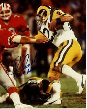 JOHN CAPPELLETTI signed autographed NFL LOS ANGELES RAMS photo