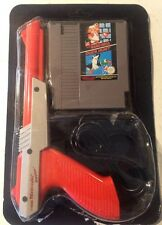 Nintendo NES Zapper Gun Super Mario Bros Duck Hunt PAL UKV Sealed In Blister