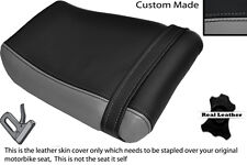 BLACK & GREY CUSTOM FITS KAWASAKI ZXR 250 A 88-91 REAR SEAT COVER