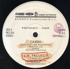 VARIOUS (CAJERA / L.V. PROJECT / DREAMER G / JACK & JILL) - Promo Mix 4