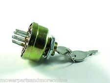 Universal Lawn Mower Ignition Switch, Some John Deere, Husqvarna, Toro, Murray