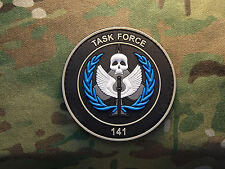 "Call of Duty Task Force 141 GITD 2x3"" PVC Tactical Hook Morale Patch"