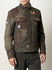 Alexander McQueen  McQ Motorbike Jacket military green Us size 40 UK 50
