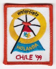 World Scout Jamboree 1999: badge Dutch contingent - troop waterfiets