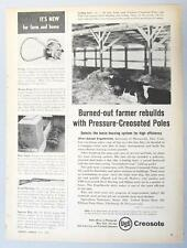 Dated Original 1955 USS Building Ad Endorsed by Adolph Engelbrecht Munnsville NY