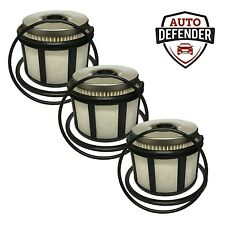 3 Fuel Filters for 99-03 Ford F & E Series 7.3L Powerstroke Diesel