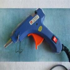 Mini Professional Electric Trigger Hot Melt Glue Stick Gun 20 Watt 7mm Blue UN