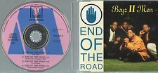 BOYS II MEN CD single END OF THE ROAD 4 tracce 1992