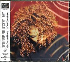 JANET JACKSON-THE VELVET ROPE-JAPAN CD Ltd/Ed C68