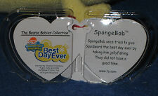 TY SPONGEBOB BEST DAY EVER  BEANIE BABY - MINT with MINT TAGS