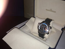 Jaeger-Le Coultre Master Compressor Diving Pro geographic titanium wrist watch