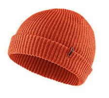 NEW Nike Mens SB Marled Beanie Knit Hat Orange Running Adult Unisex SkateBD