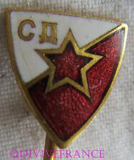 SK1310 - INSIGNE Sportivniye Druzstvo Crvena Zvezda Beograd  - RUSSIE