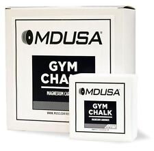 MDUSA GYM CHALK WeightLifting PowerLifting 1 LB - IMPROVE GRIP (8 x 2 oz blocks)