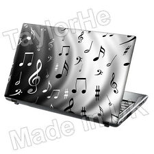 """15.6"""" Laptop Skin Sticker Decal Music Notes Classic"""
