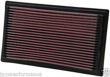 KN AIR FILTER (33-2075) FOR SUBARU FORESTER 2.5 TURBO 2002 - 10/2008