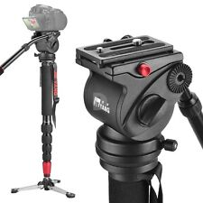 US WAREHOUSE JY0506 Aluminum Alloy 4KG Professional Monopod for Video/Camera