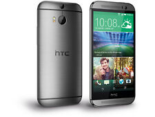 HTC One M8 (Latest Model) - 32GB - Gunmetal Gray (AT&T) Smartphone - Unlocked