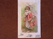 Walter A Wood Binders-Mowers-Horserakes-Reapers/Cute Little Girl/1890 Trade Card