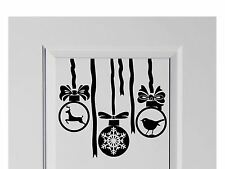 Hanging Baubles Christmas Decal home Decor Xmas 210mm