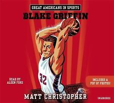 Great Americans in Sports: Blake Griffin by Matt Christopher (2015, CD)
