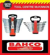 BAHCO 1RM/SH12 & 1RZ/SH8 20pce RATCHET GEAR RING & OPEN END WRENCH SPANNER SET
