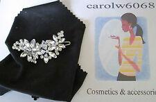 Diamante Crystal Rhinestone  Barrette Hair Clip Clamp Hairpin  FLOWER
