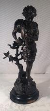 Signed & Numbered Bronze Statue  Les Amants Par Mathurin Moreau J B Hirsh