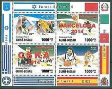 BASKETBALL EUROLEAGUE 2014 -- MACCABI MACABI - REAL MADRID - BARCELONA - CSKA