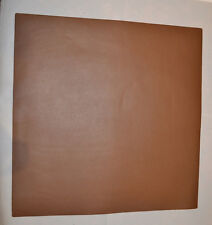 "Leather Pieces - Brown Top Grain - 3-4 oz - 12 x 12"" - 1 pieces (E79)"
