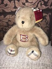 New Genuine Burberry Teddy Bear Gift Baby Shower Boy/Girl