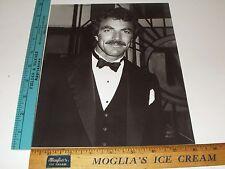 Rare Original VTG Young Heartthrob American Actor Tom Selleck Ed Geller Photo