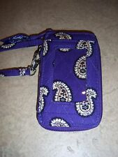 New Vera Bradley Simply Violet All In One Wristlet Nwot