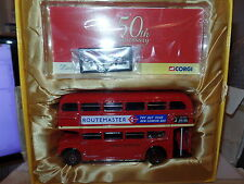 Corgi CC25904 1/50 Maßstab London Transport Routemaster RM1 Bus 50 Jahre MIMB