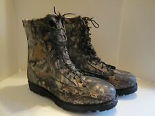 Men's Browning Gore Tex Camouflage Hunting Boots Size 14 W Thinsulate Ultra