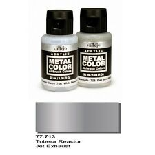 Vallejo Paints Metal Color VLJ-77713 Jet Exhaust Metal Color 32ml Bottle