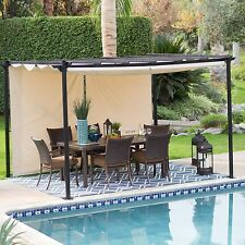 Gazebo Canopy Tent Outdoor Cover Patio Shelter Yard Deck Shade Garden Pool Steel